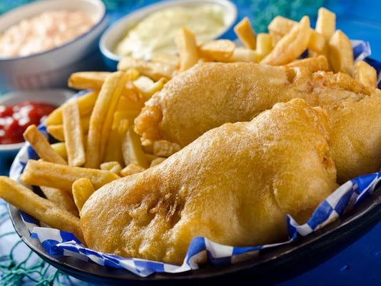 Two Piece Fish and Chips
