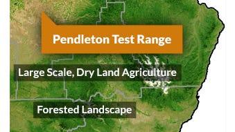 Pendleton drone field.