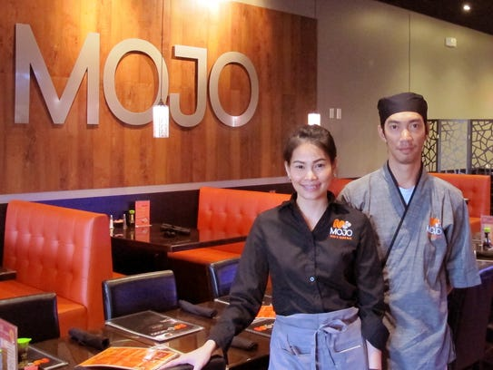 Tangmo and Joe Sunthi recently opened Mojo Thai & Sushi