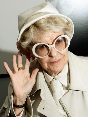 """Elaine Stritch on the red carpet at the premiere of the film """"Infamous,"""" in New York.  Stritch died July 17 at her home in Birmingham, Mich. She was 89."""
