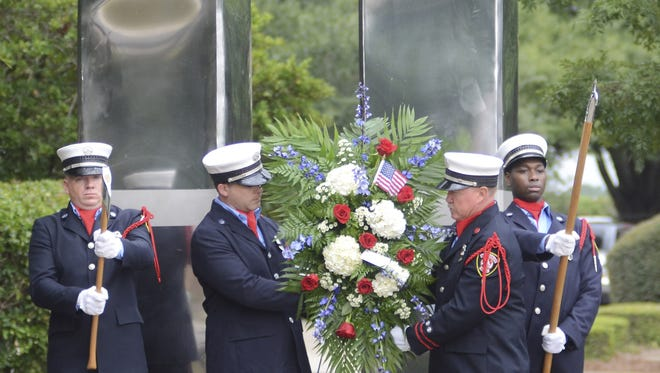This year's Patriot Day observance will begin at 8 a.m. Sept. 11 at Fire Station #1, 610 N. Main St. in downtown Hattiesburg.