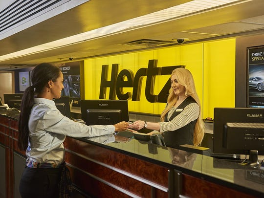 In a regulatory filing Monday, Estero-based Hertz Global Holdings — parent of The Hertz Corp. — raised serious doubts about its ability to survive another year.