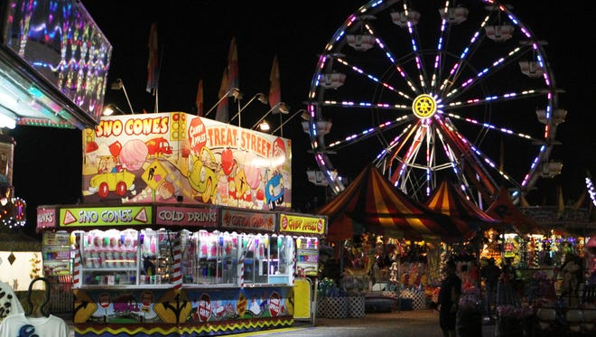 The Southwest Florida and Lee County Fair offers a variety of treats.