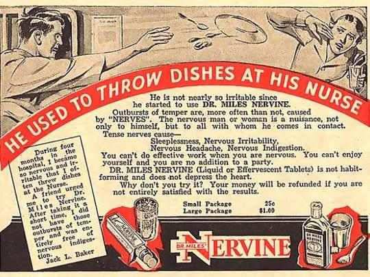 Workplace violence? Take some Nervine.