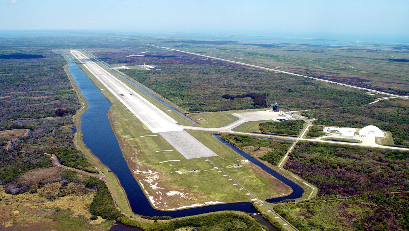 nasa shuttle facility men Shuttle landing facility ksc history the national following the decision to build a rocket that could launch men to the moon, nasa established its launch.