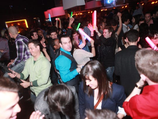 The dance floor is packed at Mazelpalooza at the Mint on Dec. 24, 2012, in Scottsdale.