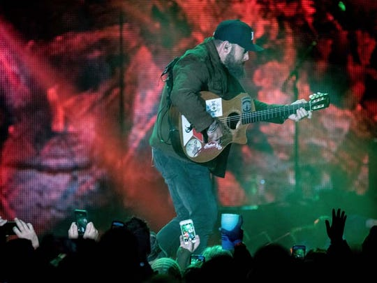 The Zac Brown Band brought their Jekyll + Hyde tour to Comerica Park on Saturday, Sept. 12, 2015, with supporting act Drake White.