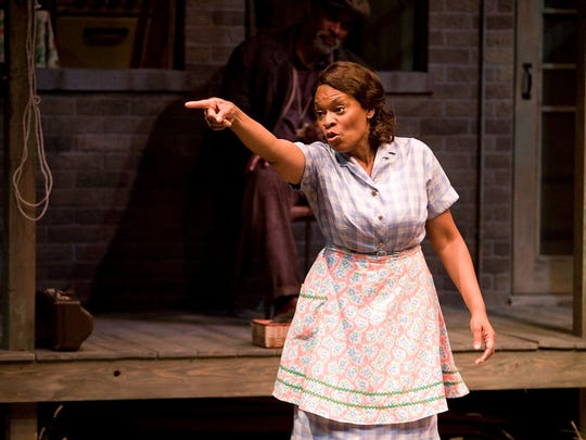 Kim Staunton in IRT's 2016 production of Fences.
