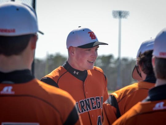 Barnegat's Jason Groome will throw against RBC Saturday night in Red Bank in a Strike Out Autism Challenge game.