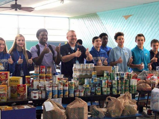 Great work, John Carroll High School, in giving back to your local community!