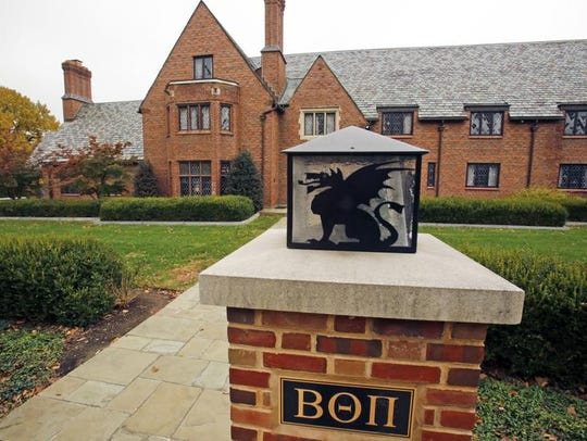 A judge has sentenced three former Beta Theta Pi fraternity members at Penn State to jail in the 2017 death of a pledge.