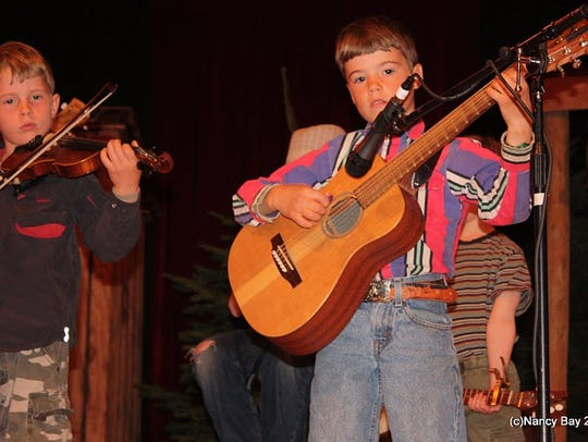 The Bluegrass From the Forest festival takes place