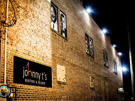 In 2015, John Tierre Miller remodels the historic Crystal Palace, formerly a hub for entertainers in the 1940s, into Johnny T's Bistro & Blues.