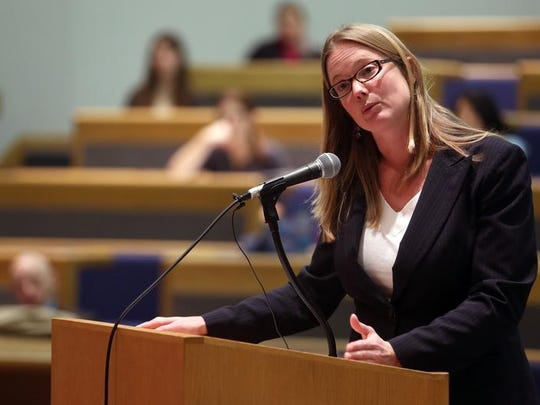 Des Moines lawyer Angela Campbell.