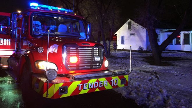 Sioux Falls Fire Rescue responded to a Christmas night house fire at 5401 West 14th Street.