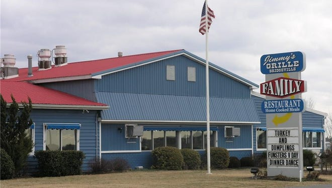 Jimmy's Grille in Bridgeville has been recently put on the market.