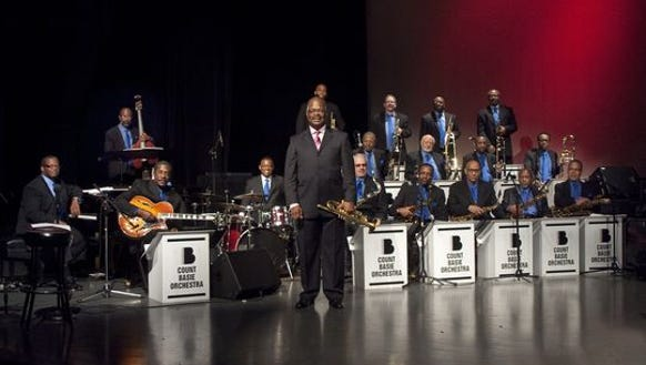 The Count Basie Orchestra will perform 6:30 p.m. Saturday,