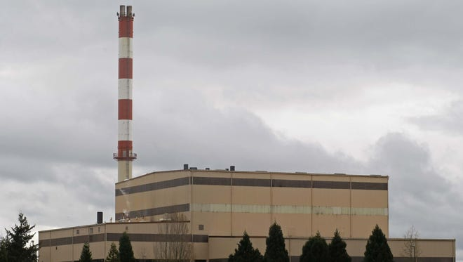 The Covanta waste-to-energy facility in Brooks.