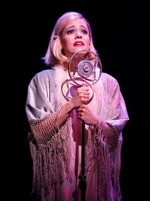 "Leigh Ann Larkin is Sally Bowles in the Roundabout Theatre Group's touring production of ""Cabaret."""