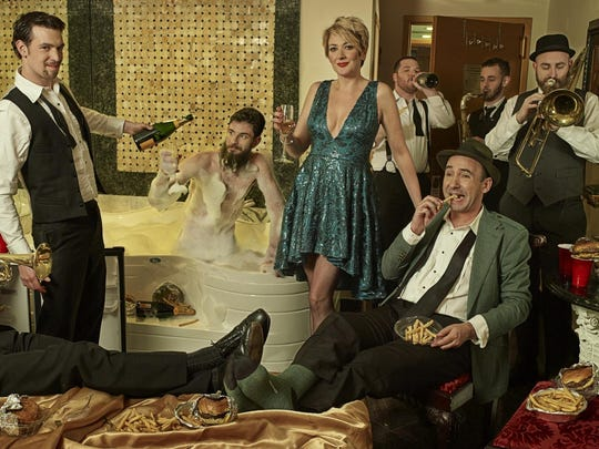 """The Hot Sardines, fresh from the release of their album """"French Fries and Champagne,"""" perform Friday at the Clemens Center in Elmira."""