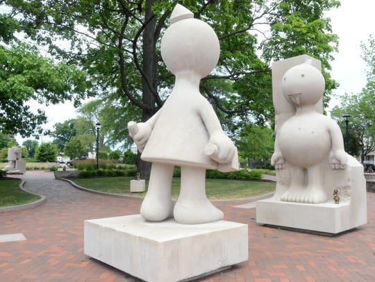 Weird Sculptures From Around Rochester