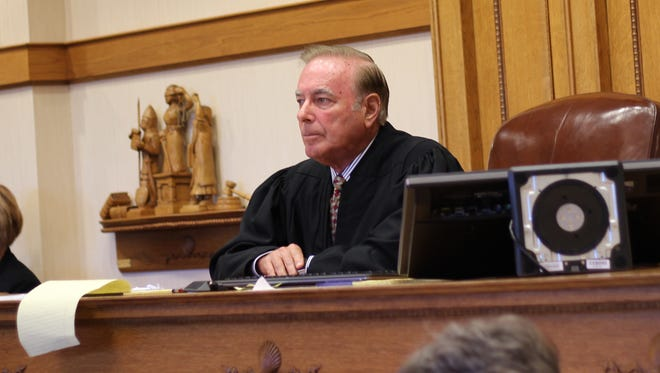 Visiting Judge Dale Crawford, retired of Franklin County, was removed from presiding over the Steve Kraus criminal case by the Ohio Supreme Court.
