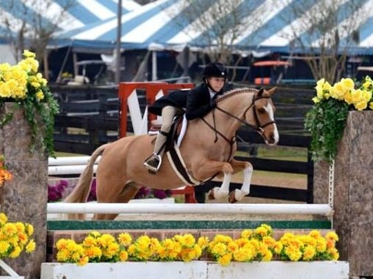Madeline Jordan, a budding equestrian, was struck by