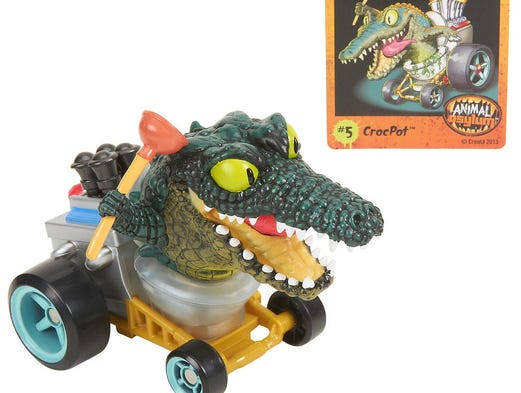 This could be the grossest holiday toy season in years as toymakers roll out new lines of gross-out toys that fart, burp or make other weird noises.  The new Monster 500 line from Toys R Us features CrocPot, an icky monster sitting on a potty-type vehicle and holding a toilet plunger.