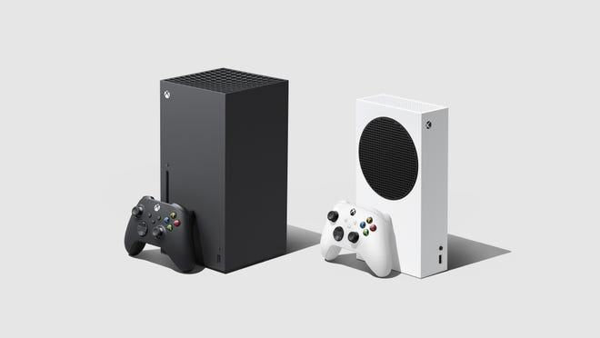 The Xbox Series X and Series S game consoles.
