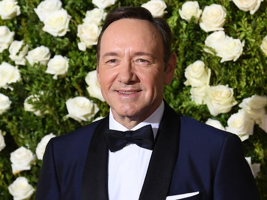 Kevin Spacey, attending the 2017 Tony Awards, has been
