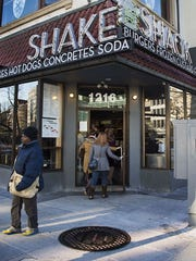 There are more than 60 Shake Shack locations, including this one in Washington, DC,