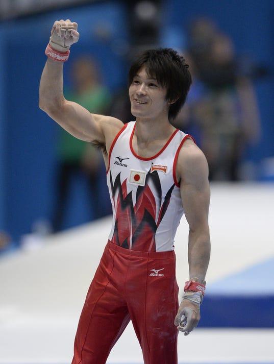 2013-10-03 Kohei Uchimura