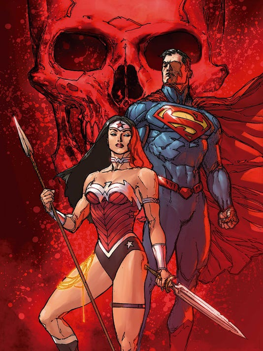 Supes WW 13 cover