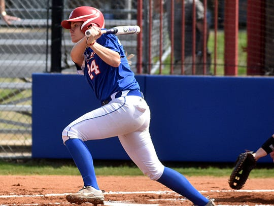 Vol State freshman Jaylin Mabry is hitting .389 with
