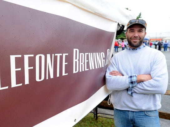 Wilmington Brew Works owner/brewer Craig Wensell represents
