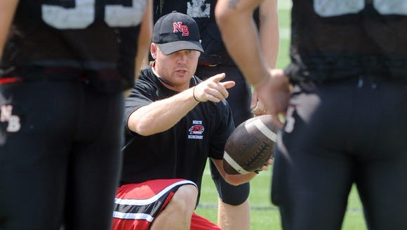 Brandon Allen has been hired to coach the North Buncombe