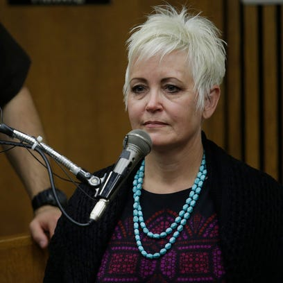 Janet Leehmann of Oregon takes the stand. The trial
