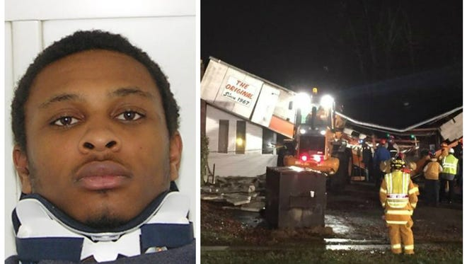 James Walker (left) was the driver of the vehicle that struck Finneytown Mower Sales & Services on Dec. 5.