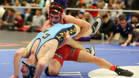 Fox Lane's Matt Grippi on his way to defeating Central