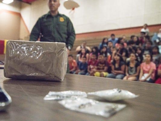 Border Patrol Agent Cesar Gongalez