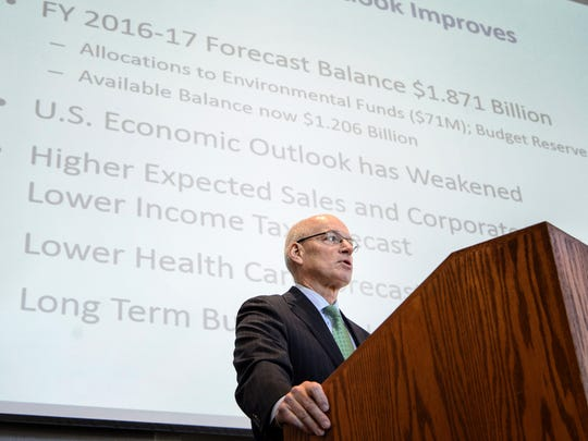 State finance commissioner Myron Frans said a legal review determined that the Legislature can't modify the agreements.