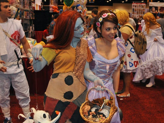 MegaCon 2015, a comic book and sci-fi convention held April 10-12 at the Orange County Convention Center in Orlando, Florida.