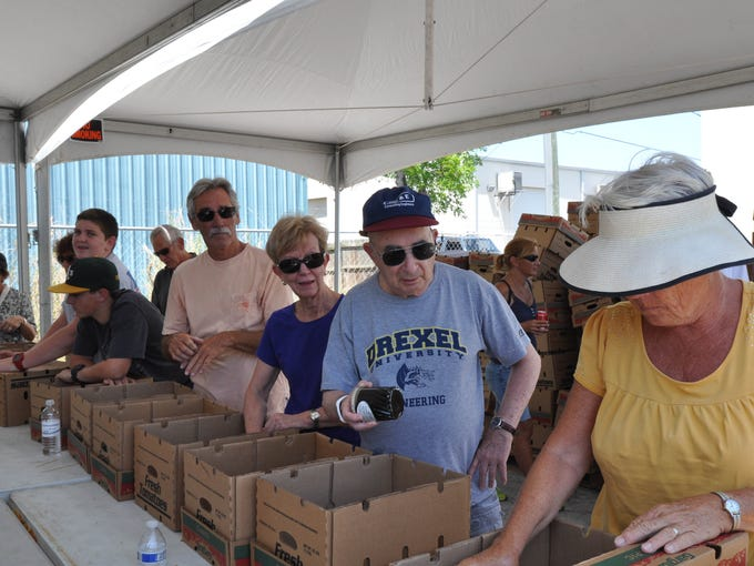 Saturday, May 9, was the Collier Harvest Food Drive.