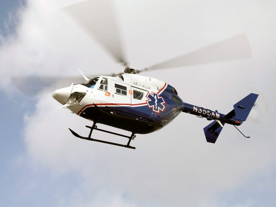 Helicopters similar to this Air Methods Kentucky medical