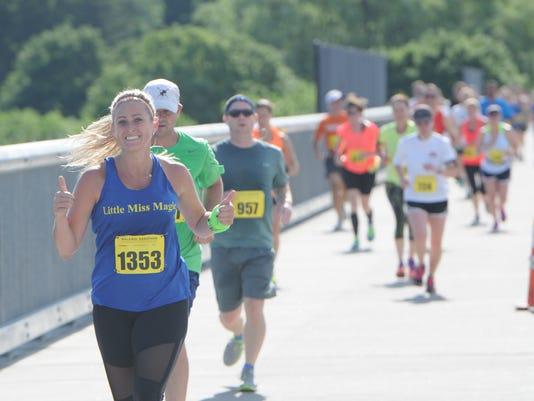 The inaugural Walkway Marathon