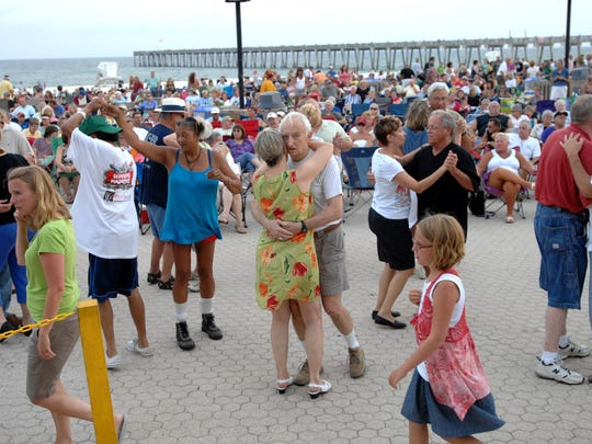 Pensacola Beach's popular outdoor summer concert series,