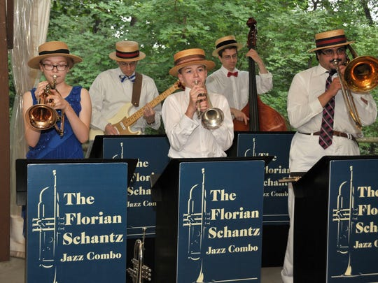 The Florian Schantz Jazz Combo launches a fall tour of New Jersey libraries this weekend.