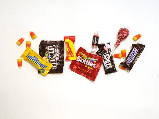 No Halloween is complete without the candy.