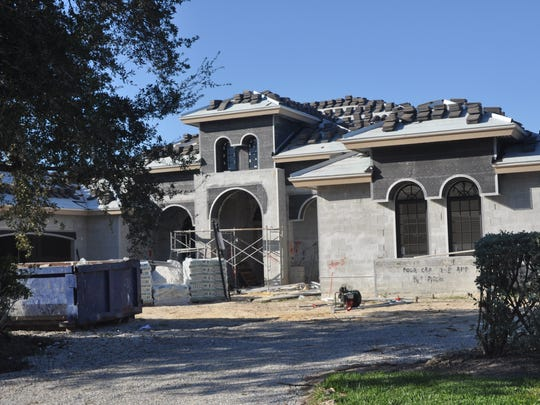 Builders in Quail West are constantly constructing