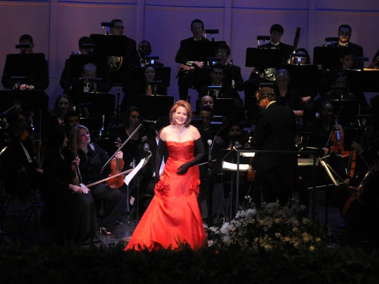 A 2010 recital in Jackson by famed soprano Renée Fleming celebrated the 65th anniversary of the Mississippi Opera and the centennial of the University of Southern Mississippi.